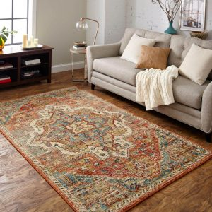 Living room area rug | Carpets And More, Inc