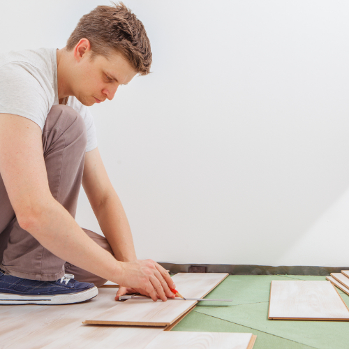Vinyl installation   Carpets And More, Inc