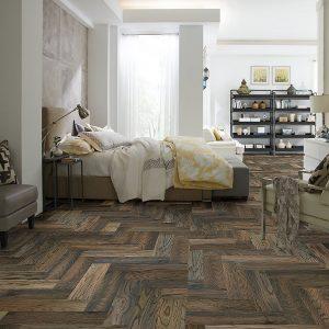 Chevron Hardwood | Carpets And More, Inc