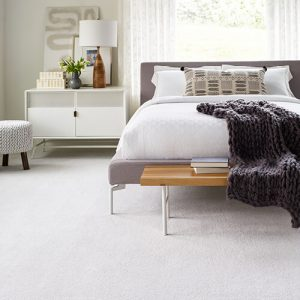 White carpet for bedroom | Carpets And More, Inc