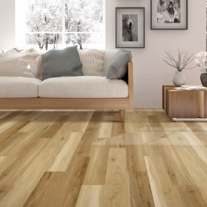 Laminate Flooring with Couch | Carpets And More, Inc