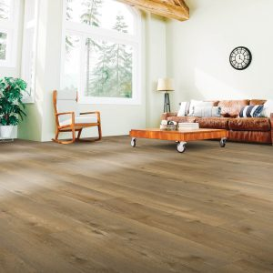 Laminate Flooring in Living Room | Carpets And More, Inc